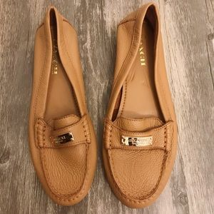 Coach Fredrica Tan Loafers